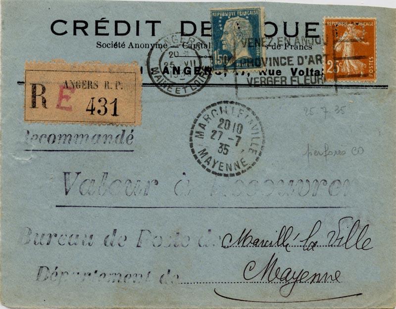 Valeur à recouvrer 19350711