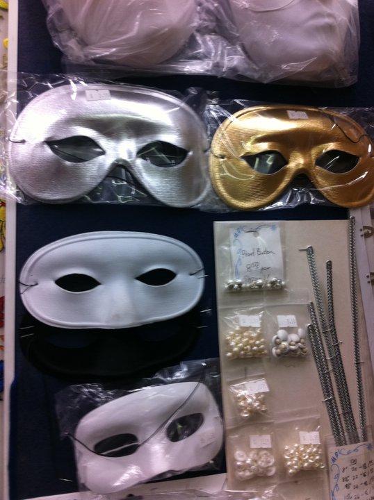 【已結束】 Semi-Formal Make-up/Mask-making/Waltz Workshop Mask10