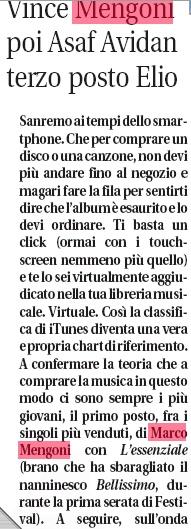 [Sanremo 2013] Marco va in Riviera 2 - Articoli e Interviste - Pagina 6 Libero10