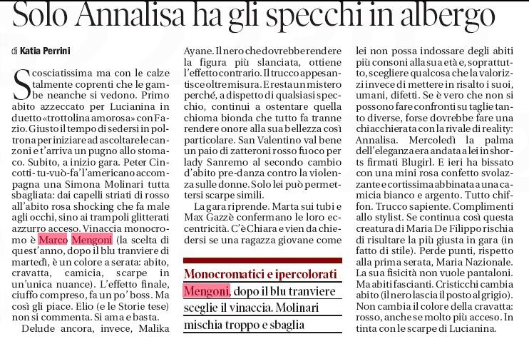 [Sanremo 2013] Marco va in Riviera 2 - Articoli e Interviste - Pagina 6 Specch10