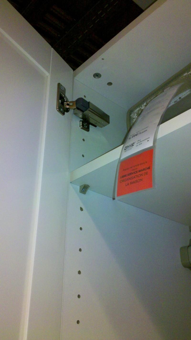 Couper sur la hauteur une armoire PAX  2013-013