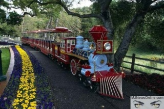 Neverland Valley Ranch Train10