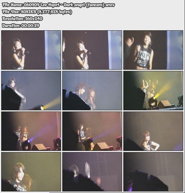 [060909] Hyori - Dark_angel {fancam} 06090911