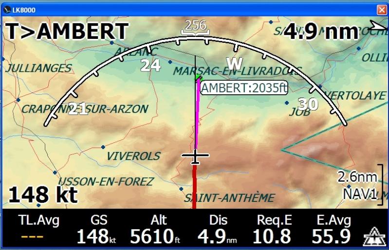 GPS voiture en avion Lk800010