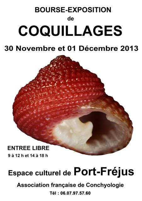 2013 Bourse de Fréjus - 30 Novembre & 01 décembre Affich13