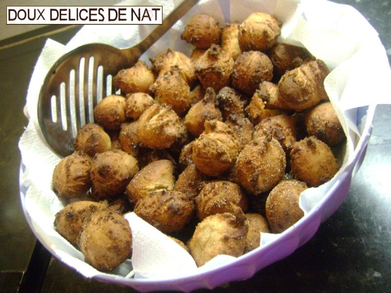 Boulettes de pain frit à la cannelle : Boulet10