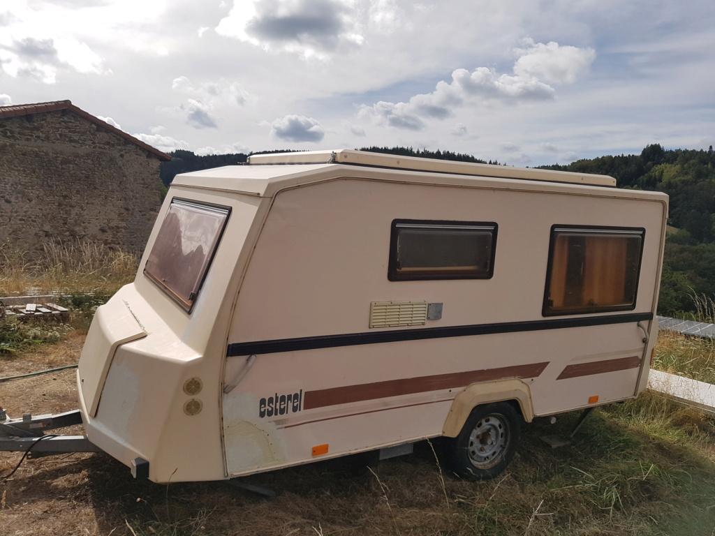 Vente caravane surbaissée 310