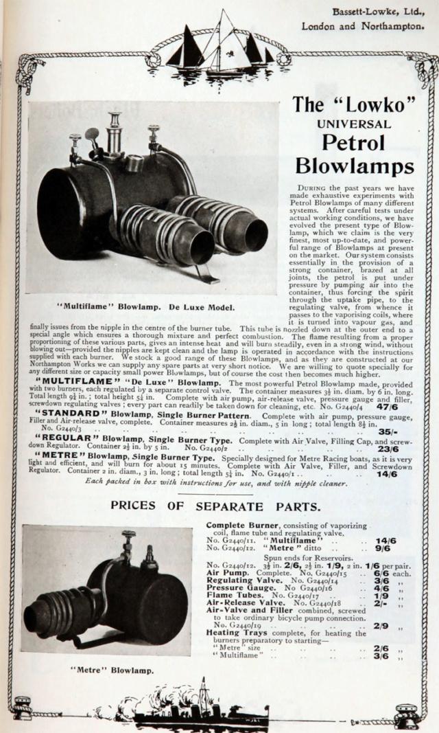 Canot à vapeur 40 Pouces Im191410