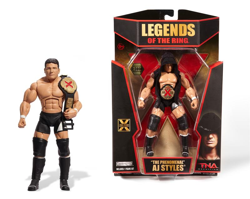 "AJ Styles 1/3000 TNA Shop Exclusive ""Legends Of The Ring"" Ajlege11"