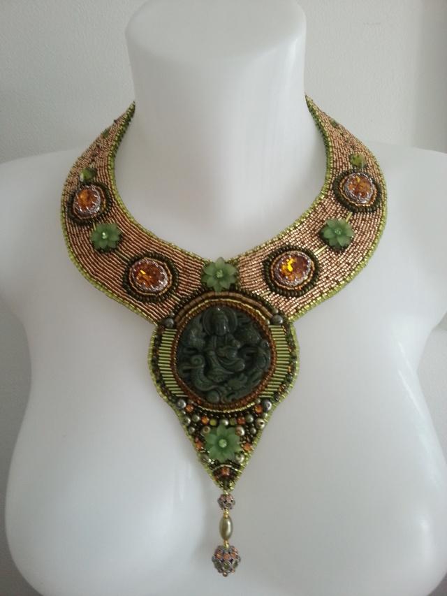 mes créations bijoux lithothérapie Collie13