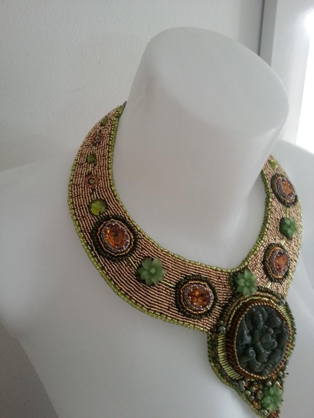 mes créations bijoux lithothérapie Collie14