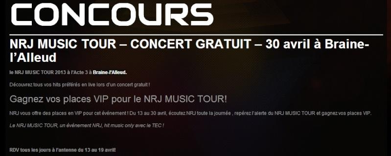 [30.04.13] NRJ Music Tour - Braine-l'Alleud (Belgique) Sans_t11