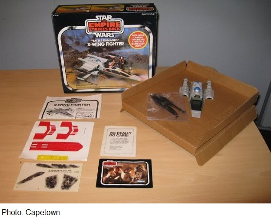 X wing stickers Kenner13