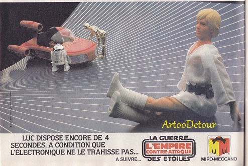 Meccano Star Wars adverts from French PIF Gadget comic magazine Pif_ga10