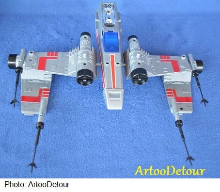 Luke X-Wing Pilot / X-Wing Fighter focus *** Updated March 2015 Takara31