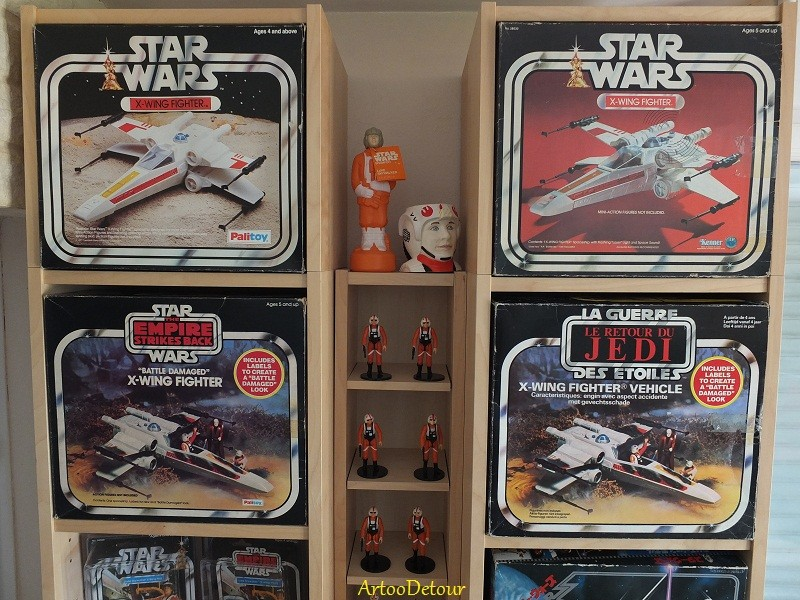 Luke X-Wing Pilot / X-Wing Fighter focus *** Updated March 2015 Xwfocu12