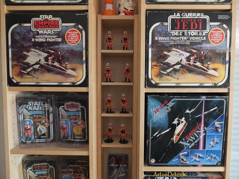 Luke X-Wing Pilot / X-Wing Fighter focus *** Updated March 2015 Xwfocu13