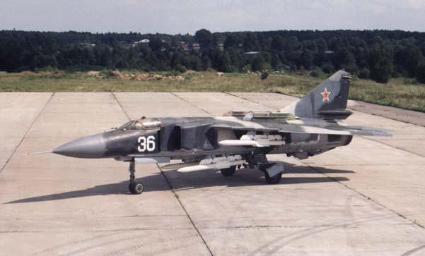 Soviet Armed Forces / Soviet Army (1946-1991) Mig23910