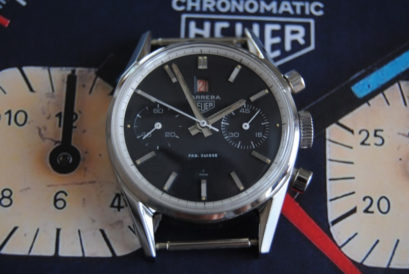Heuer Carrera Dato 45 réf.3147 Later >>> Piaces10