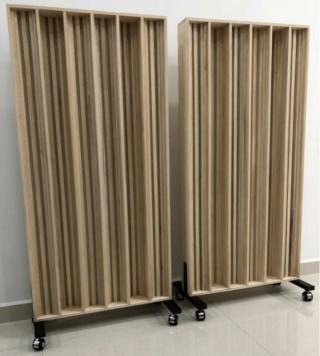 Acoustic Sound Diffuser 60 x 120cm D610