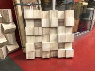 Acoustic Diffuser Panels - Skyline Diffuser 60cm x 60cm Img_0813