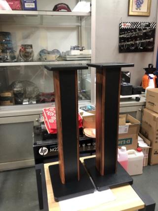 Generic 70cm Single Column Speaker Stands  Img_1011