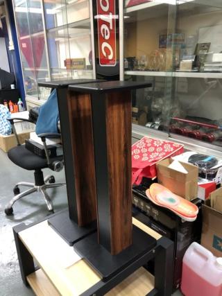 Generic 70cm Single Column Speaker Stands  Img_1013