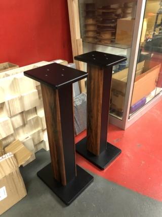 Generic 70cm Single Column Speaker Stands  Img_1014