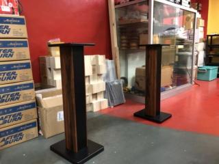 Generic 70cm Single Column Speaker Stands  Img_1016