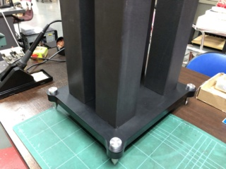 Generic 24 Inch Four Pillar Speaker Stands Img_1021