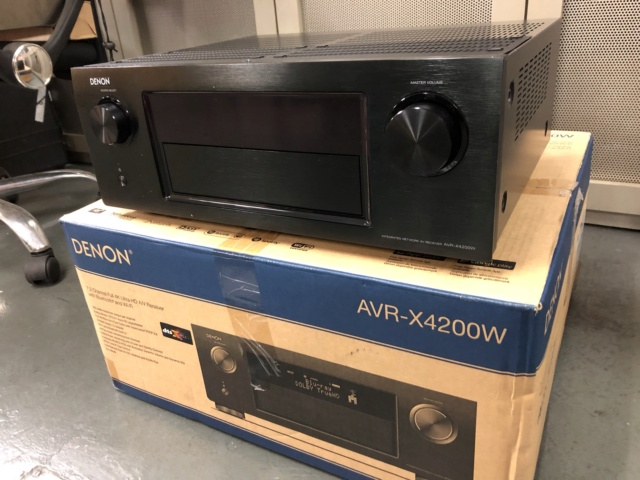 Denon AVR-X4200W / Atmos / DTS:X / 4K / Dolby Vision [SOLD] Img_2122