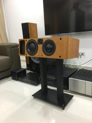 Premium Center Channel Speaker Stand  Img_3434