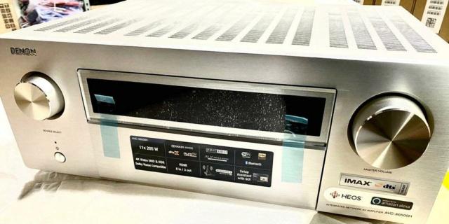 Denon AVC-X6500H (Silver) 11.2 Channel/ Atmos / DTS:X / 4K / Dolby Vision X6500h13