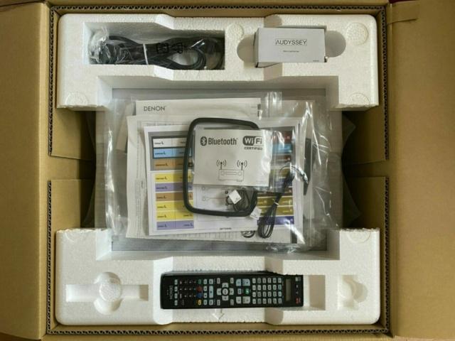 Denon AVR-X7200WA / Atmos / DTS:X / 4K UHD / Dolby Vision X72-310