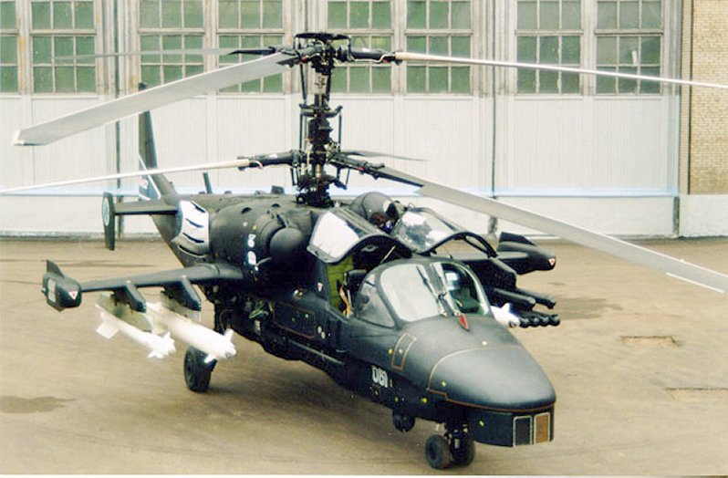 Hélico polyvalent Ka-52 Alligator Ka-52-10