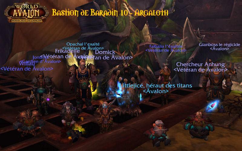 Cataclysm - Bastion de Baradin 10 11012110