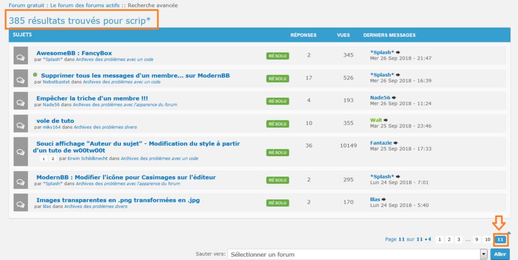 Problème de recherche sur le forum de forumactif Captu268