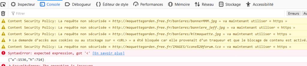 Fort ralentissement du forum en HTTPS Captu396
