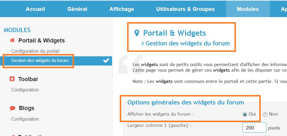 addition d'un module sur la page accueil  Captur86