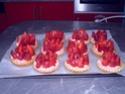 Tartelettes fines aux fraises , mascarpone vanillee de Nadège Mju2d410