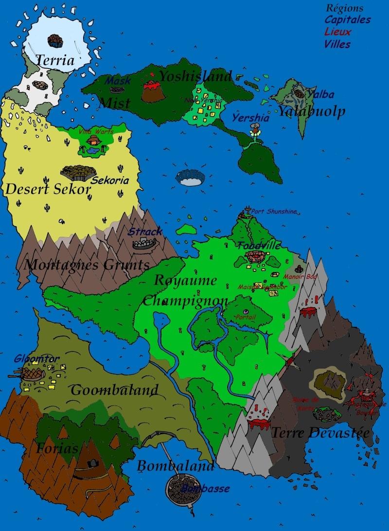 Carte du Monde Cartee10