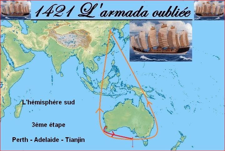 VLM    La 1421-3 l'hemisphere sud  142110