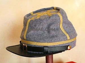 officier confédéré terminé et pret pour Sèvre Casque13