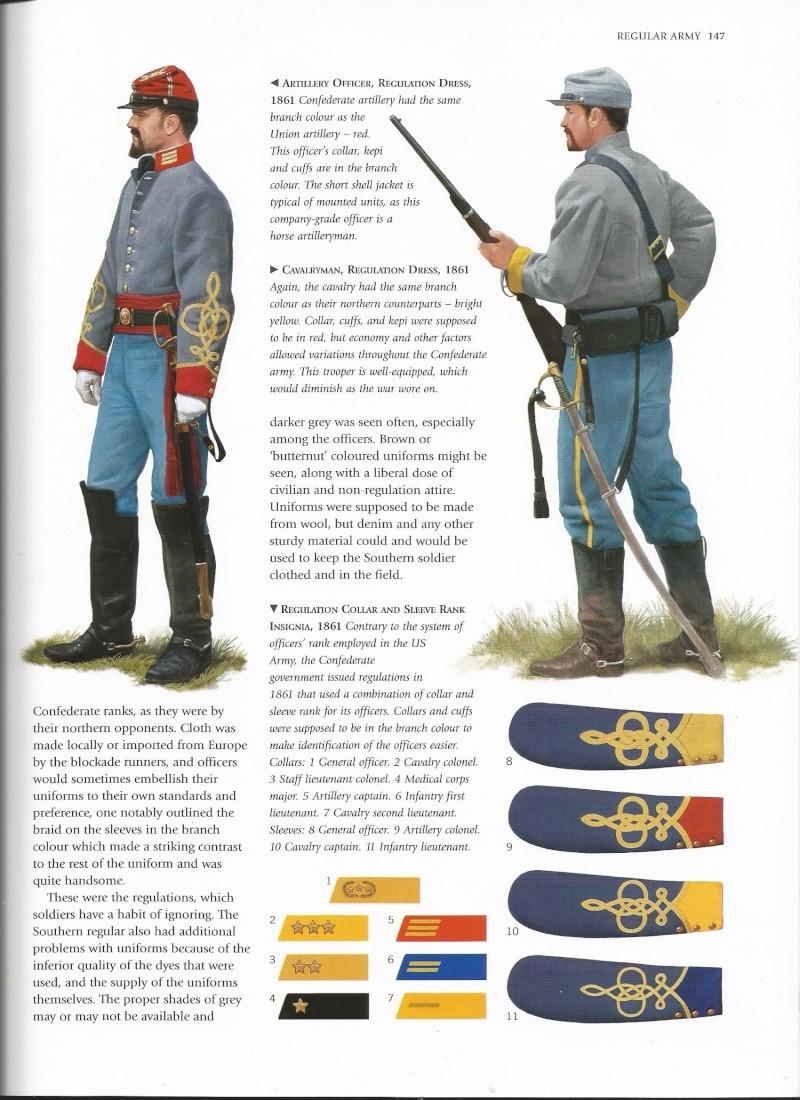 officier confédéré terminé et pret pour Sèvre Unifor11