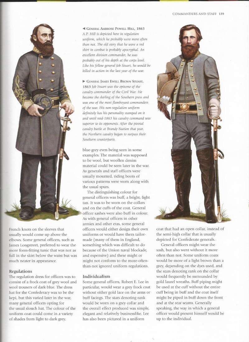 officier confédéré terminé et pret pour Sèvre Unifor12