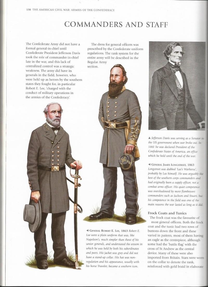 officier confédéré terminé et pret pour Sèvre Unifor13