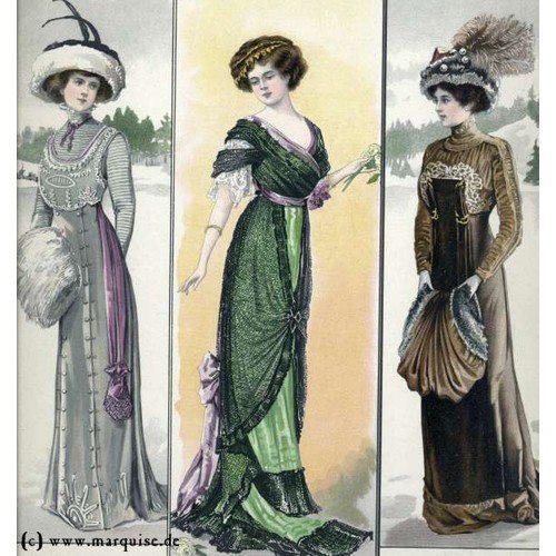 La mode à bord du Titanic - Page 2 Elizab10