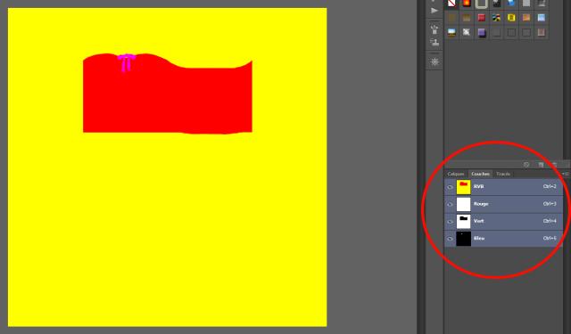 [Fiche] Créer vos vêtements - Insérer une quatrième zone recolorable à un vêtement avec Photoshop en format dds  410