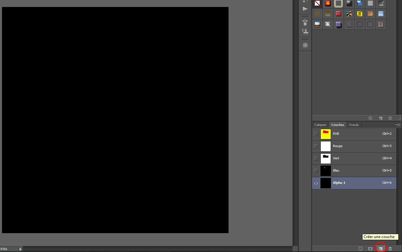 [Fiche] Créer vos vêtements - Insérer une quatrième zone recolorable à un vêtement avec Photoshop en format dds  510
