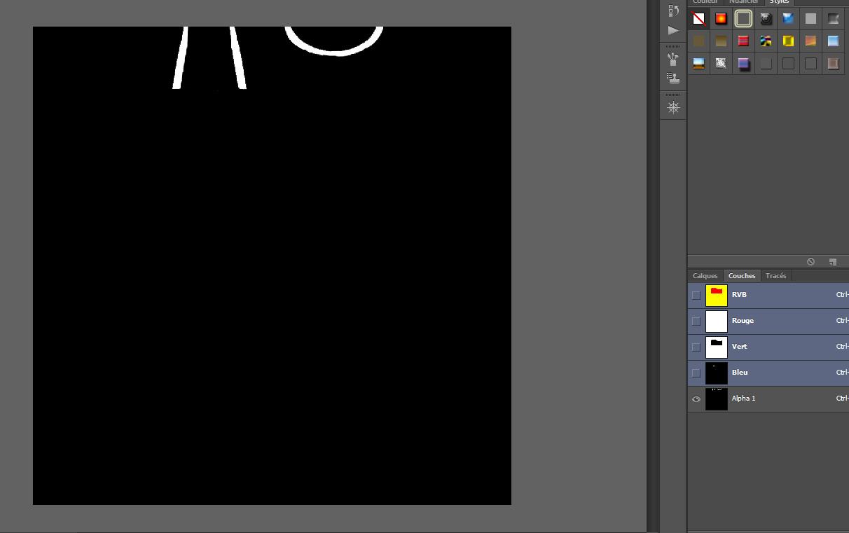 [Fiche] Créer vos vêtements - Insérer une quatrième zone recolorable à un vêtement avec Photoshop en format dds  610